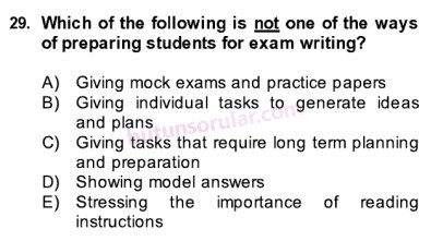 model answer to mock exam 2